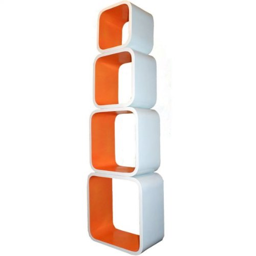 008 mojo 4tlg xxl lounge regal cube set retro designregal. Black Bedroom Furniture Sets. Home Design Ideas