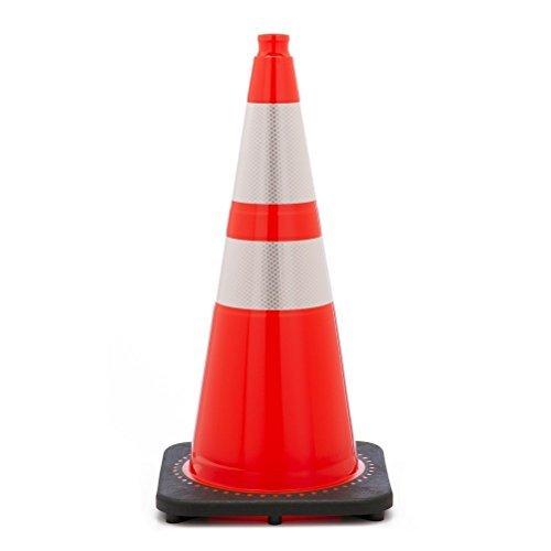"28"" Orange Traffic Cones w/ 4""& 6"" 3M Reflective Collars [Tools & Hardware]"
