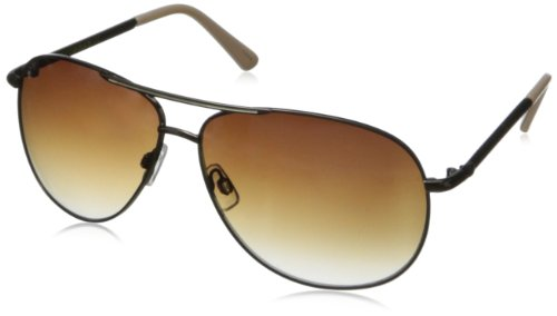 union-bay-womens-u889-aviator-sunglassesbrowm-cream64-mm