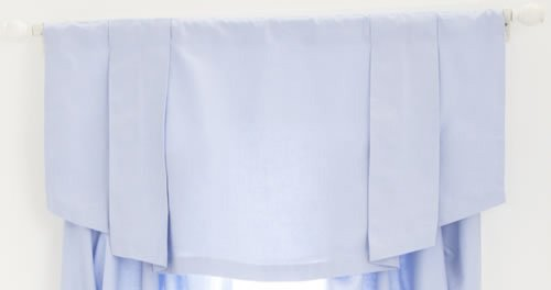 Whistle And Wink Valance (Solid Blue) front-554362
