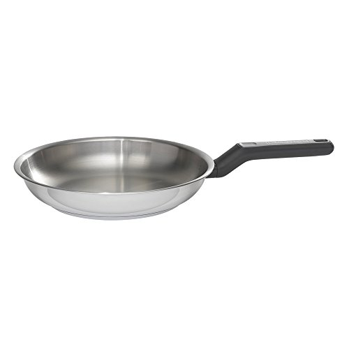 BLACK+DECKER 83381 Durable Stainless Steel Fry Pan, 10