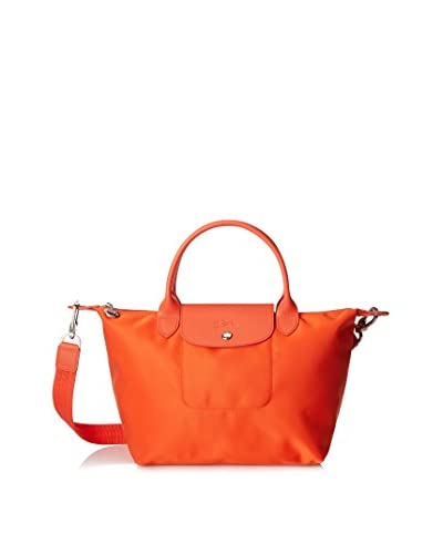 Longchamp Women's Le Pliage Small Tote, Clementine