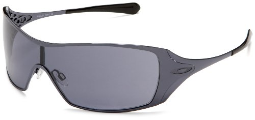 Oakley Women's Dart Sunglasses,Slate Frame/Grey