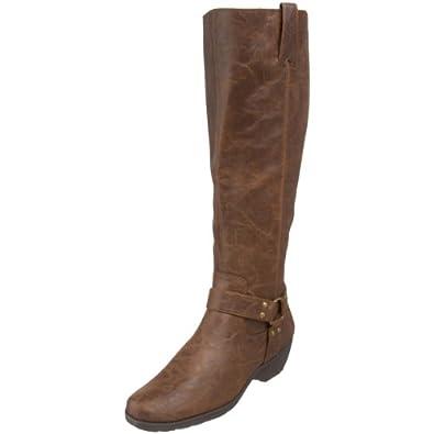 Aerosoles Women's Mezzotini Knee-High Boot,Dark Brown,6 M Us
