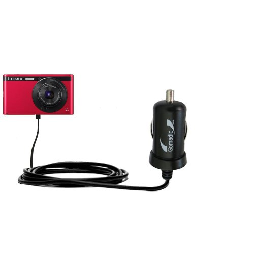 Intelligentes 2A / 10W Kompakt-Ladegerät DC kompatibel mit Panasonic Lumix DMC-XS1R mit TipExchange Technologie