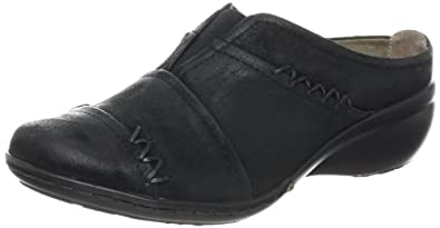Easy Spirit Women's Poppin Clog,Black,5.5 M US