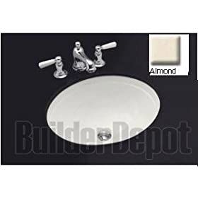 KOHLER K-2319-47 Bancroft Undercounter Lavatory, Almond