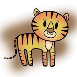 Imaginisce Snag Em Stamp - Tiger Clear Stamp