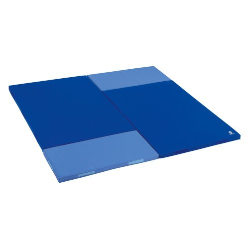 Wesco Wesco Small Mosaic Square Mat - 4 Mats, Red/Orange, Foam front-808993