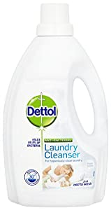 Dettol Antibacterial Laundry Cleanser Spring Fresh Cotton 1500 ml (Pack of Four)