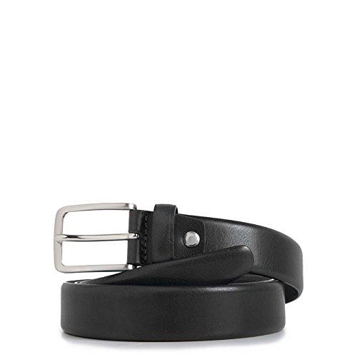 Cintura uomo con fibbia ad ardiglione | Piquadro C56 | CU3902C56-Nero