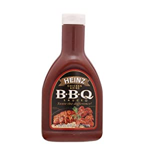 .com: Heinz Chicken and Rib Barbecue Sauce 510g.: Everything Else