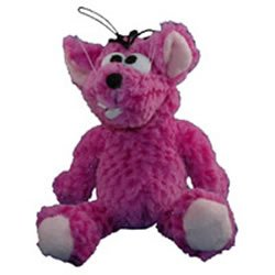 Multi Pet Shaggy Pals Mouse 10in Plush Dog Toy