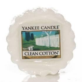 Yankee Candles Clean Cotton Wax Tart 0.8oz (22g)