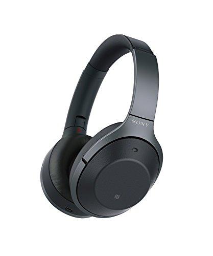 소니 WH-1000XM2 노이즈 캔슬링 무선 헤드폰, 리퍼 상품 (블랙/골드) Sony M2 Premium Noise Cancelling Wireless Headphones Black/Gold