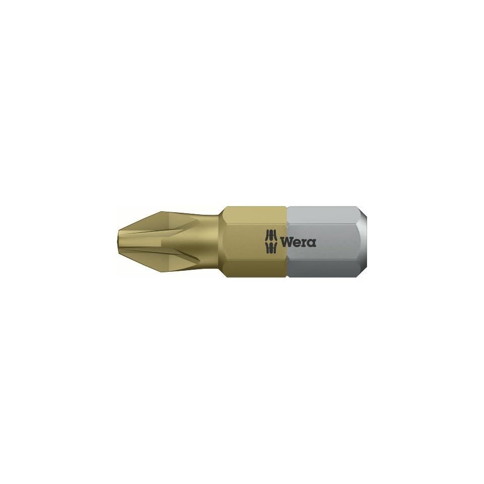 1//4 Drive Wera Series 4 855//4 Z Sheet Metal Bit Pack of 10 Pozidriv PZ 2 x 152mm Blade