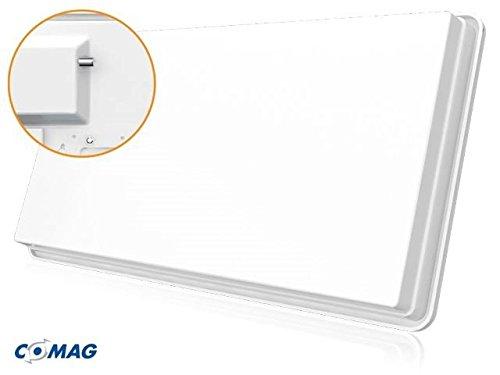 COMAG X1310 Single Hochleistungs SAT Flachantenne für einen Teilnehmer inkl. Fensterhalterung