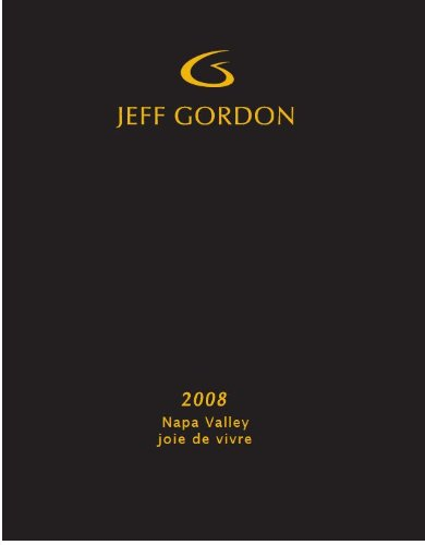 2008 Jeff Gordon Napa Valley Joie De Vivre Red Blend 750 Ml