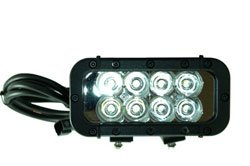 Ir Led Light Emitter - 24 Watts - 8 Leds 750/850/940Nm- Extreme Environment - 9-42Vdc(-Flood-940Nm-B
