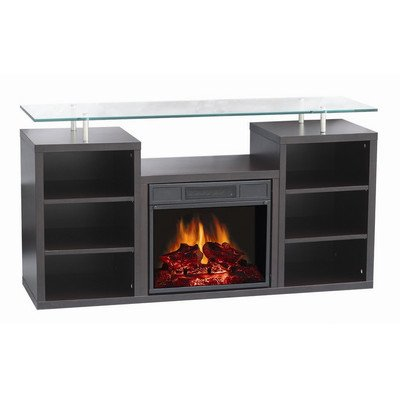World Marketing Manhattan 50'' Tv Stand With Electric Fireplace