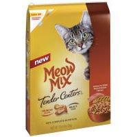 See Meow Mix Tender Centers Salmon and Chicken, 13.5-Pound