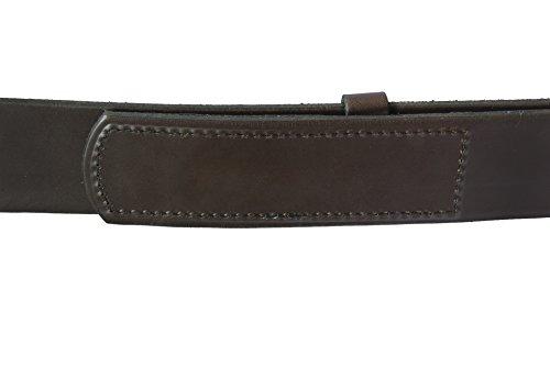 "The Original Musicians Belt, No Scratch, Genuine Leather, 1.5"", Brown, 42"