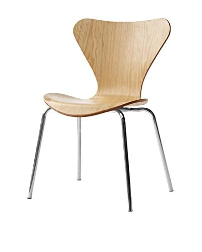 Manhattan Living Jays Dining Chair, Natural