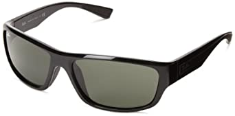 Ray-Ban 0RB4196 601 Active Lifestyle Rectangle Sunglasses,Black