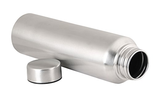 3ea44a6f2b 22% OFF on Zafos Stainless Steel Water Bottle Sipper,1 Litre, 1-Piece,  Silver on Amazon | PaisaWapas.com