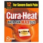 Cura Heat Back Pain Max Size Heat Pads