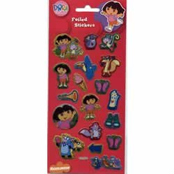 Dora the Explorer - Foil Sticker Pack - Sticker Style