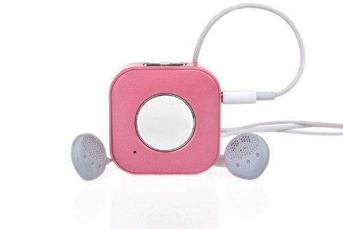 Favi Clip Bluetooth Wireless Headphone Adapter (Pink)