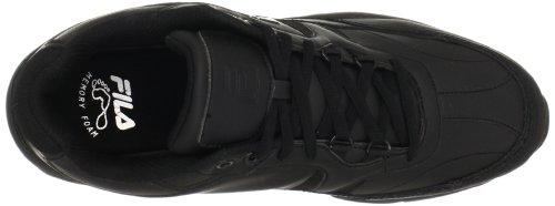Fila Men's Memory Workshift Cross-Training Shoe,Black/Black/Black,7.5 4E US