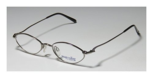 976fe15c4a4 Marcolin 2031 Mens Womens Designer Full-rim Titanium Eyeglasses Glasses  (46-18-140