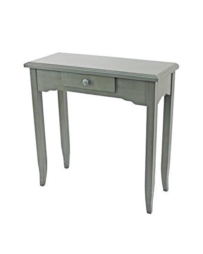 Teton Home Wood Table, Grey