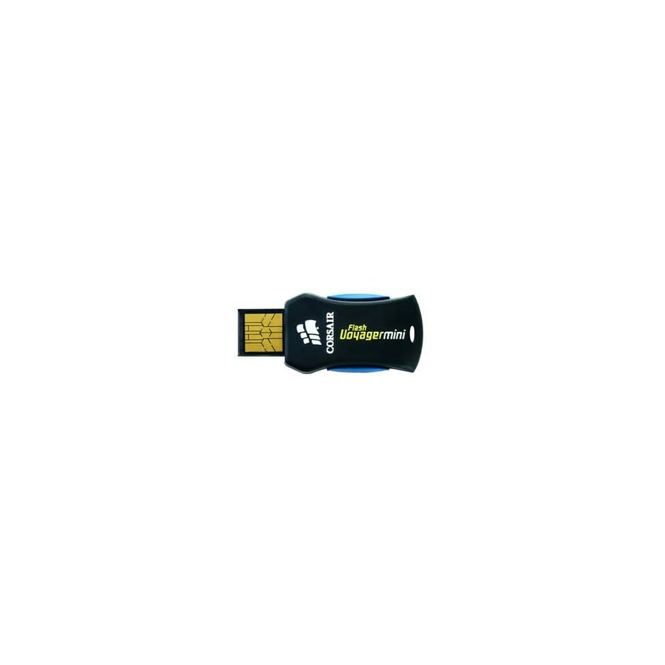 Corsair 4gb Flash Voyager Mini Usb 2.0 Flash Drive External Cap less