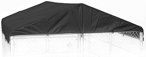 Weatherguard CL 00303 Kennel Frame & Cover Set, 10 x 10', Black