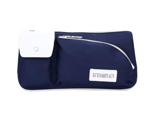 LYWE Unisex Chic Oxford Travel Sports Chest Hip Bag Cool Waist Pack Purse for Men Women