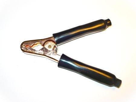 Plier-Type Steel Clip - Black With Double Sided Foam Tape