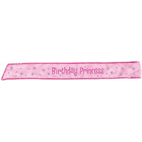 Birthday Princess Sash Party Accessory