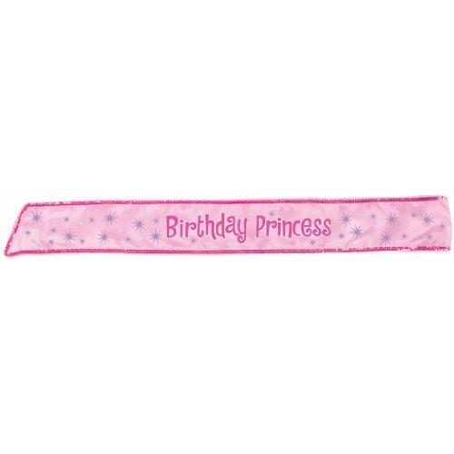 Birthday Princess Sash Party Accessory
