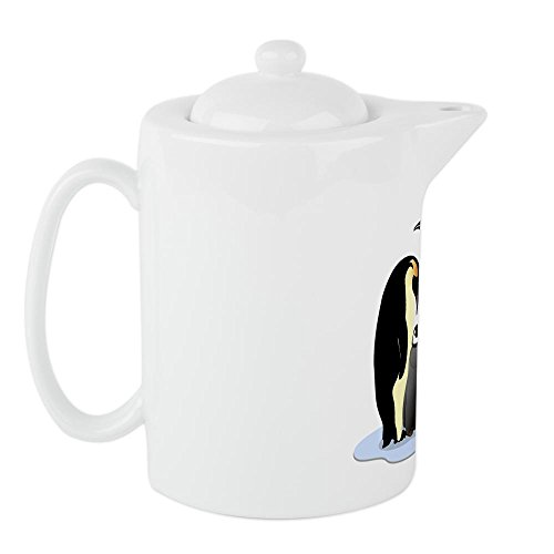Teapot (Tea Pot) Emperor Penguin Family Huddled Together (Whale Teapot compare prices)