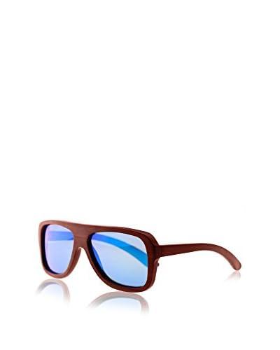 Earth Wood Siesta Sunglasses, Red