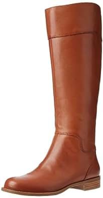 Nine West Women's Counter-W Bootie,Dark Natural Leather,5 M US