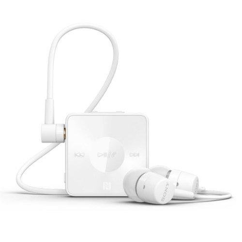 Sony Sbh20 Wireless Nfc Bluetooth 3.0 In-Ear Headphones Stereo Headset Earbuds (White)