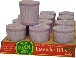 Votive Esst Oil Lvnd Hill 2Oz (12 Per Box) By Aloha Bay