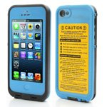 Durable Redpepper Waterproof Case Millitary Cover for iPhone 5 - Blue