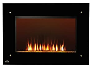 Wall Mounted Electric Fireplace Kitchen Home