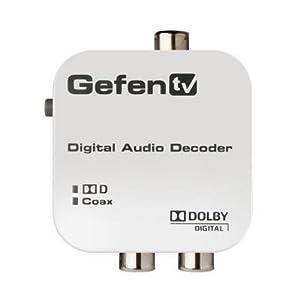 GefenTV GTV-DD-2-AA Digital to Analog Decoder GTV-DD-2-AA