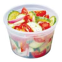 Delitainer 16 oz. Freezeable Deli Food Containers w/ Lids - Pack of 36 (Extreme Freeze Reditainer 8 Oz compare prices)